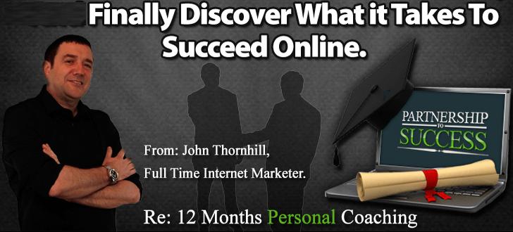 Partnership to Succes John Thornhill